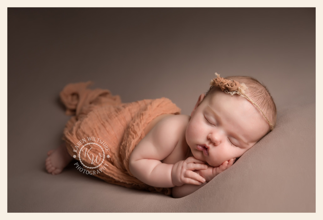 How old should a baby be at their newborn baby photoshoot