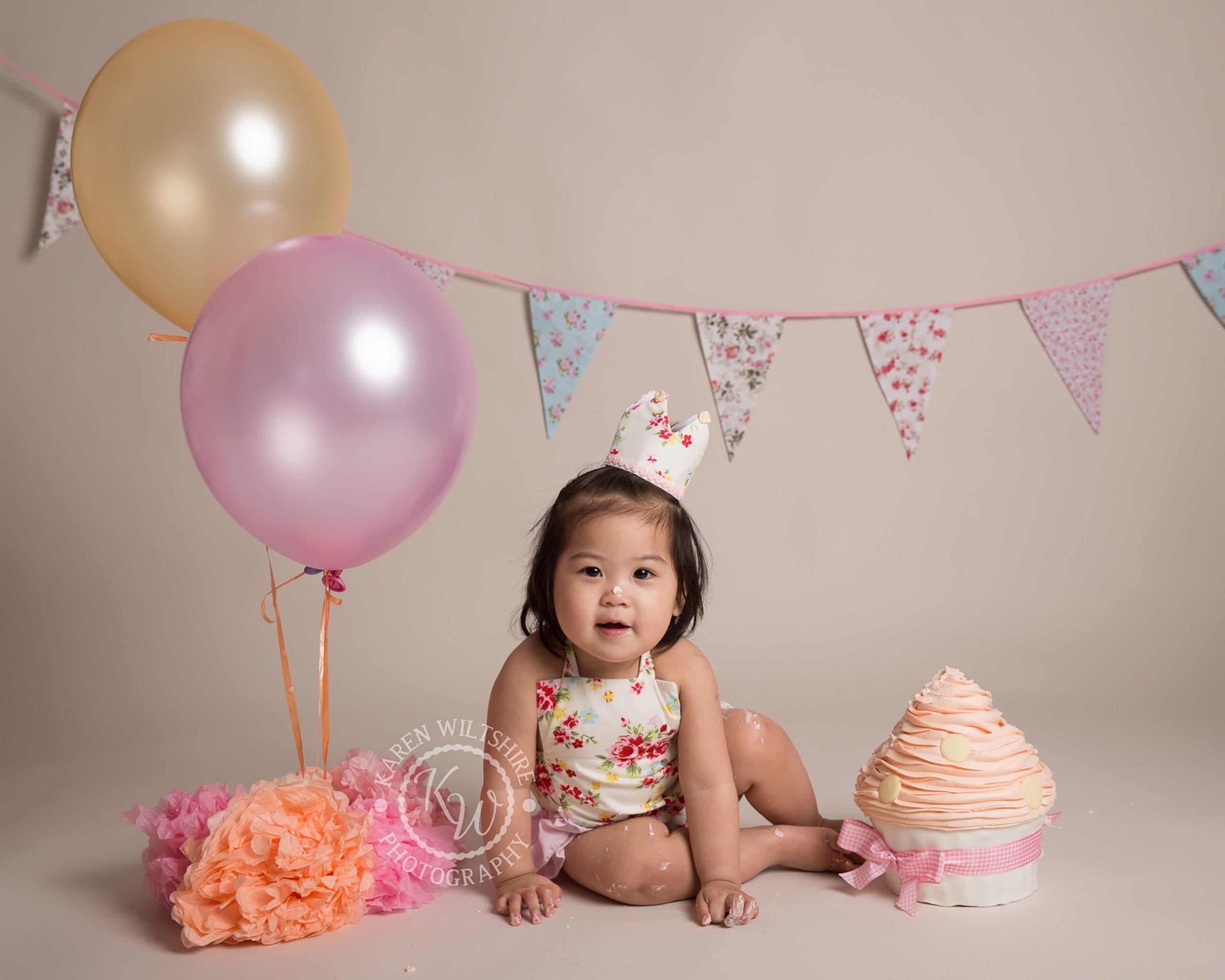 fun birthday photoshoot