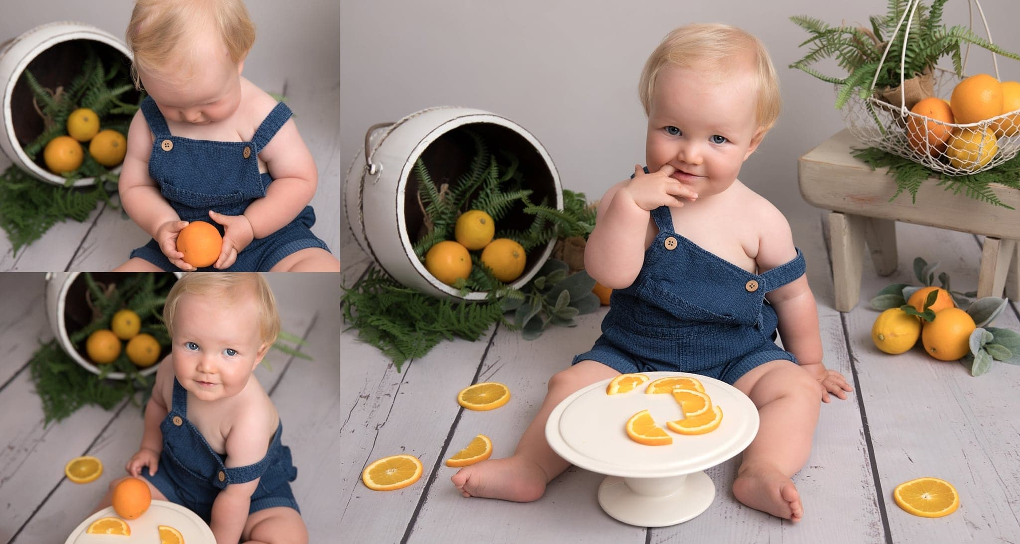fruit smash photoshoot