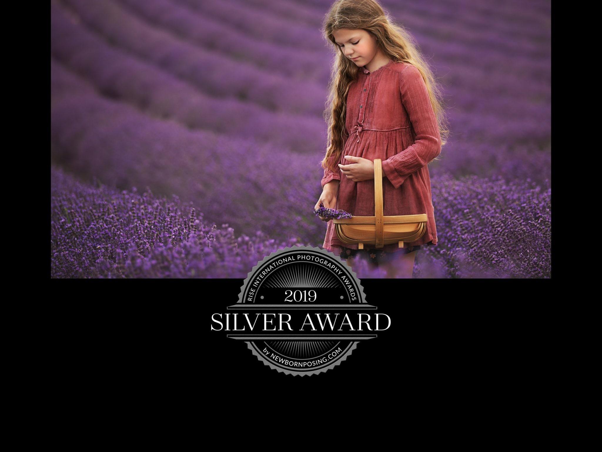 girl in the lavender field