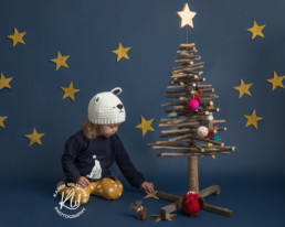 Christmas photoshoot shop local