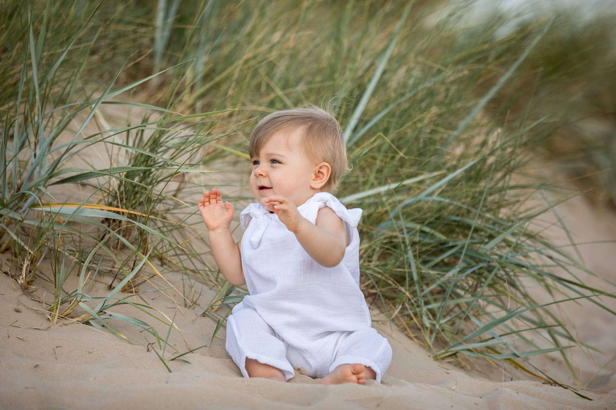 Baby on Sandbanks Beach