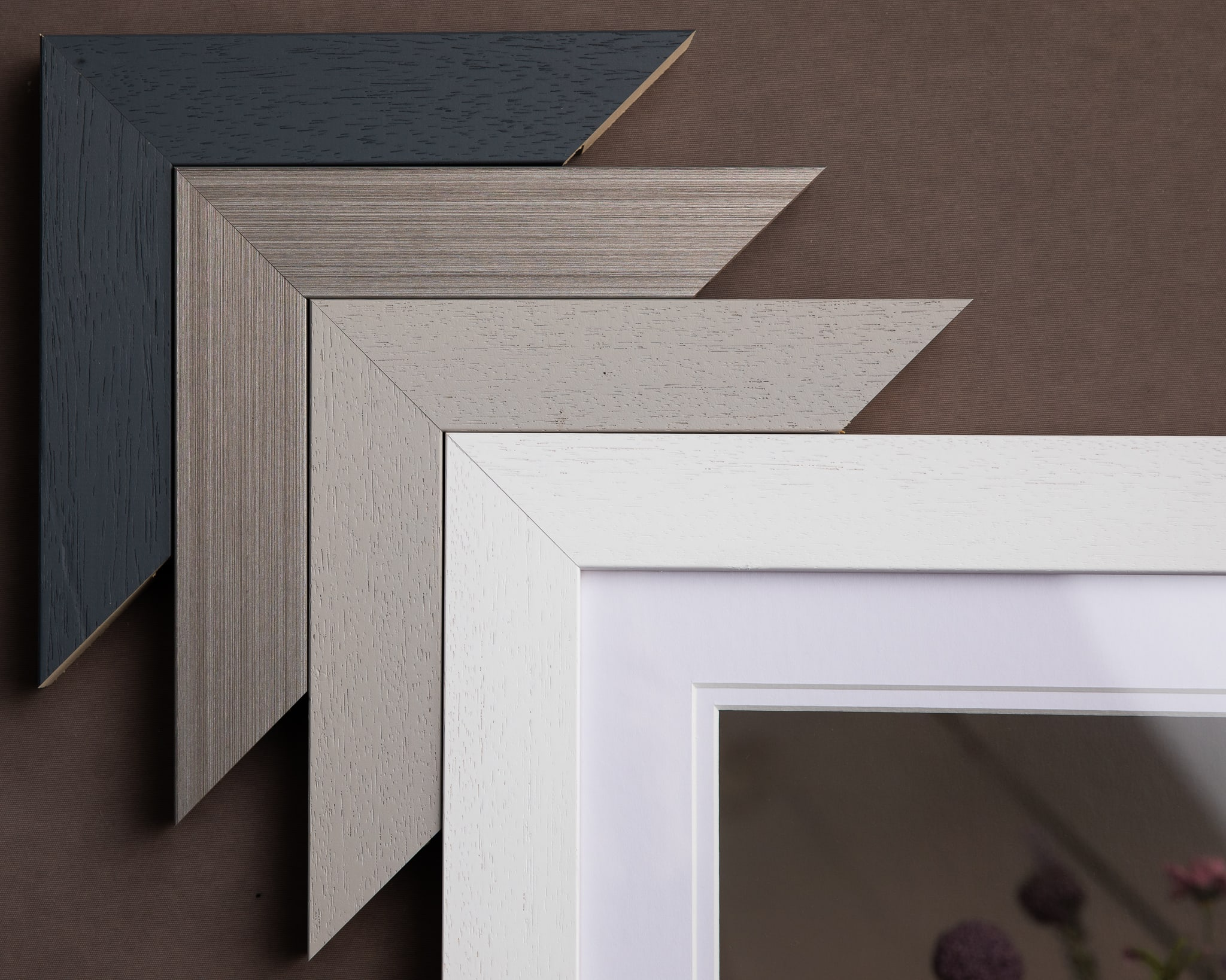 Modern frame options